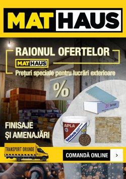 Oferte MatHaus în catalogul MatHaus ( Publicat ieri)