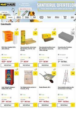 Oferte Materiale de Constructii și Bricolaj în catalogul MatHaus ( Peste 30 de zile)