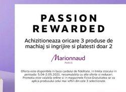 Oferte machiaj în catalogul Marionnaud ( 10 zile)