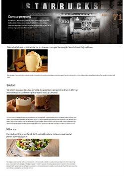 Catalog Starbucks ( Expirat )