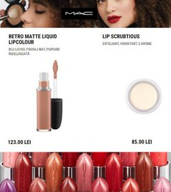 Oferte Frumusețe și Sanatate în catalogul MAC Cosmetics ( 2 zile)