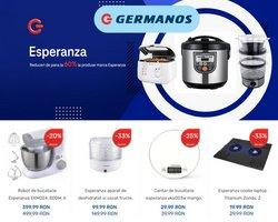 Oferte Electronice și electrocasnice în catalogul Germanos ( Expiră mâine )