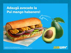 Subway offers in the Bucareșt catalogue