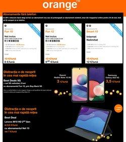Oferte Electronice și electrocasnice în catalogul Orange ( 4 zile)