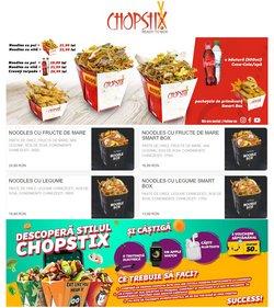 Oferte Restaurante în catalogul Chopstix ( 9 zile)