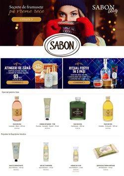 Oferte Crăciun în catalogul SABON ( 2 zile)