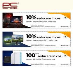 Oferte Electronice și electrocasnice în catalogul PC Garage ( 16 zile)
