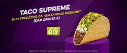 Oferte Restaurante în catalogul Taco Bell din Bucareșt ( Peste 30 de zile )