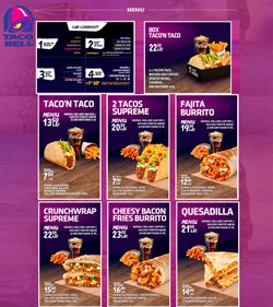 Taco Bell offers in the Otopeni catalogue