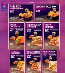 Taco Bell offers in the Bucareșt catalogue