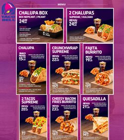 Restaurante offers in the Taco Bell catalogue in Bucareșt