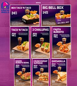 Catalog Taco Bell ( 23 zile )
