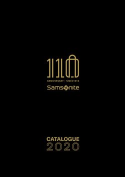 Catalog Samsonite ( Expirat )