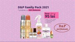 Oferte Frumusețe și Sanatate în catalogul D&P Parfum din Bucareșt ( 10 zile )