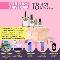 Oferte D&P Parfum în catalogul D&P Parfum ( Peste 30 de zile)