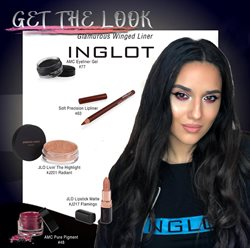 Inglot offers in the Bucareșt catalogue