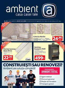 Ambient offers in the Sighișoara catalogue