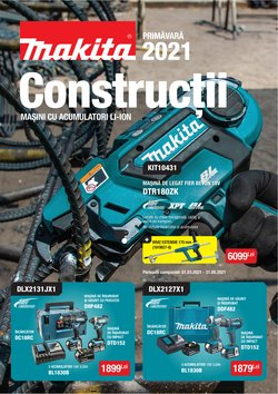 Oferte Materiale de Constructii și Bricolaj în catalogul Makita ( Peste 30 de zile )