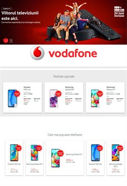 Catalog Vodafone Timișoara ( Expirat )