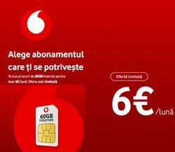 Oferte Electronice și electrocasnice în catalogul Vodafone din Reșița ( Publicat ieri )
