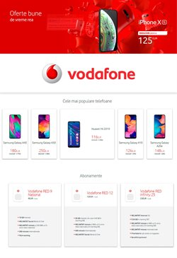 Vodafone offers in the Petroșani catalogue