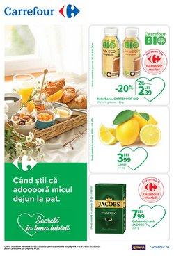 Oferte Supermarket în catalogul Carrefour Market din Timișoara ( 2 zile )
