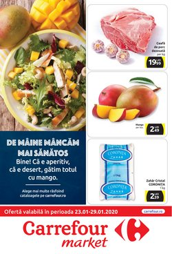 Supermarket offers in the Carrefour Market catalogue in Craiova