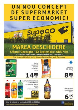 Supeco offers in the Bucareșt catalogue