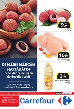 Supermarket offers in the Carrefour catalogue in Bucareșt