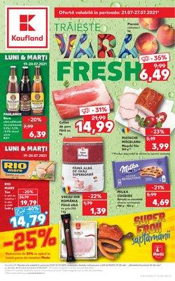 Oferte Supermarket în catalogul Kaufland ( 4 zile)