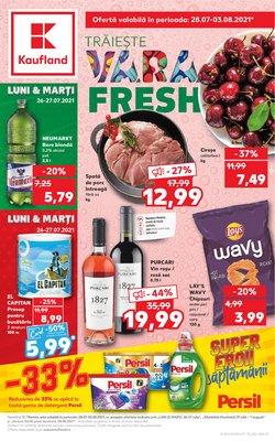 Oferte Supermarket în catalogul Kaufland ( 5 zile)