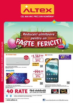 Altex offers in the Bucareșt catalogue