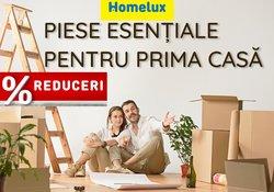 Oferte Materiale de Constructii și Bricolaj în catalogul Homelux ( Publicat ieri)