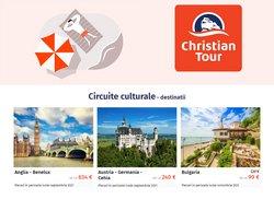 Oferte Vacanța și Timp Liber în catalogul Christian Tour ( Peste 30 de zile)