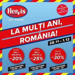 Catalog Hervis ( Publicat azi )