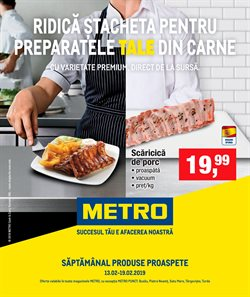 Metro offers in the Bucareșt catalogue