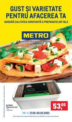 Oferte Supermarket în catalogul Metro din Moreni ( Expiră mâine )
