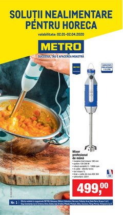 Metro offers in the Cluj-Napoca catalogue