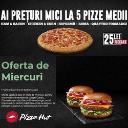 Oferte Pizza Hut în catalogul Pizza Hut ( 2 zile)