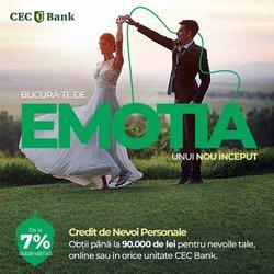 Oferte Bănci și Asigurări în catalogul CEC Bank ( Peste 30 de zile)