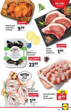 Oferte de Carne în Lidl