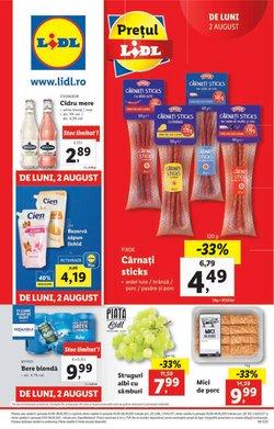 Oferte Supermarket în catalogul Lidl ( Publicat ieri)