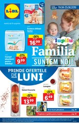 Supermarket offers in the Lidl catalogue in Bucareșt