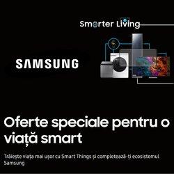 Oferte Electronice și electrocasnice în catalogul Samsung ( Publicat ieri)