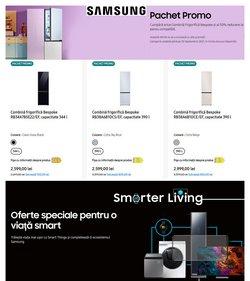 Oferte Electronice și electrocasnice în catalogul Samsung ( 6 zile)
