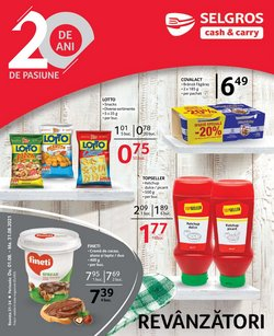 Oferte Supermarket în catalogul Selgros ( 26 zile)
