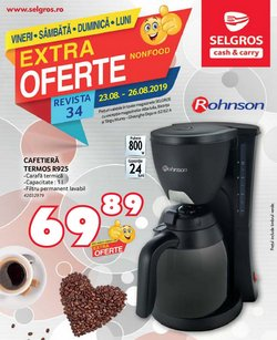 Supermarket offers in the Selgros catalogue in Craiova