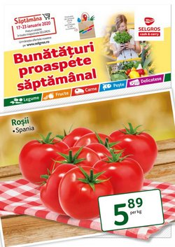 Selgros offers in the Bucareșt catalogue