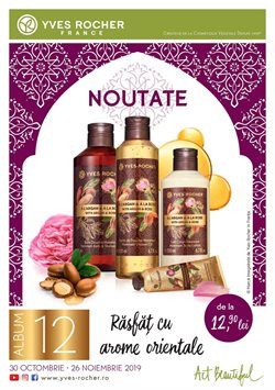 Yves Rocher offers in the Bucareșt catalogue