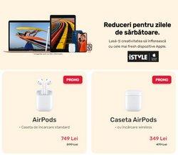 Oferte Electronice și electrocasnice în catalogul iSTYLE din Reșița ( Publicat ieri )